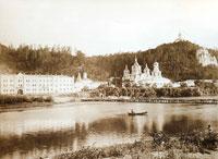 Фотография Святогорской обители конца XIX века